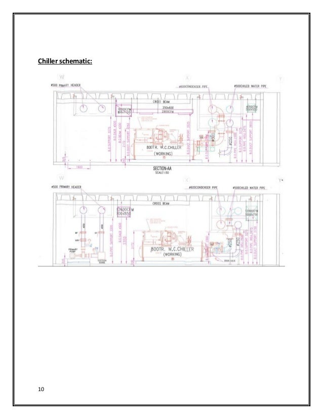 central ac system Air Conditioner Schematic 10 chiller schematic