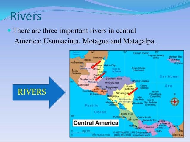 Central America2: Rivers Of Central America At Slyspyder.com