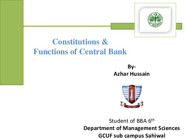 management control system of mcb bank of pakistan Senior audit officer at mcb bank limited location pakistan industry  reporting directly to senior management  accounting and related internal control systems with multiple objectives of.