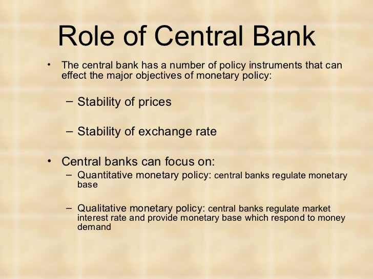 effect of monetary policy in banking Abstract this study investigates the effect of monetary policy on banking sector  performance in nigeria this is to ascertain the factors that influence the banking .