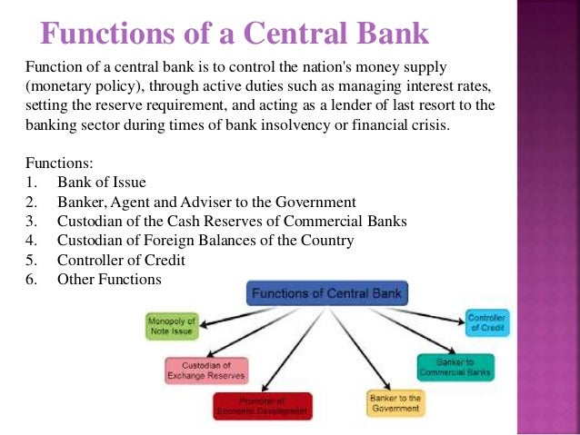 the major functions of banks Extension of credit is one of the major functions of banking institutions if banks  are not  banks have the greatest impacts on their lending behavior granger.