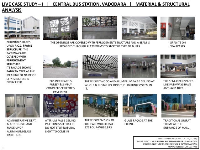 Bus Terminal Case Study,ISBT | Buildings And Structures ...
