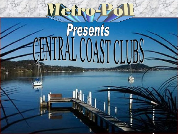 Presents CENTRAL COAST CLUBS
