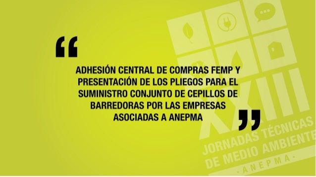XXIII JORNADAS TÉCNICAS DE MEDIO AMBIENTE CAMPO DE GIBRALTAR 19 DE NOVIEMBRE DE 2015 LA CENTRAL DE CONTRATACIÓN DE LA FEDE...