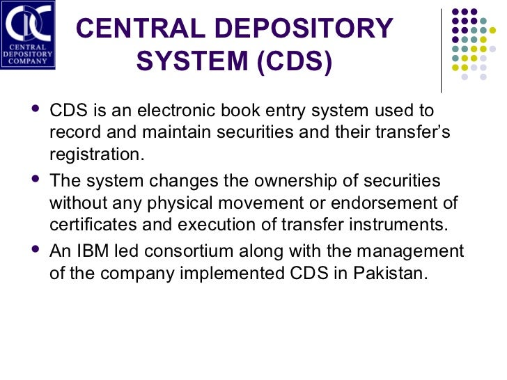 Central depository company (cdc)