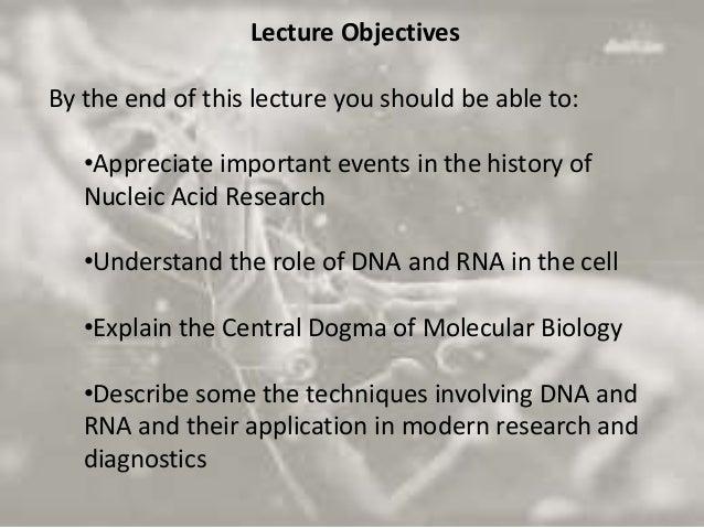 Central dogma of molecular biology 20 11-2015 Slide 2