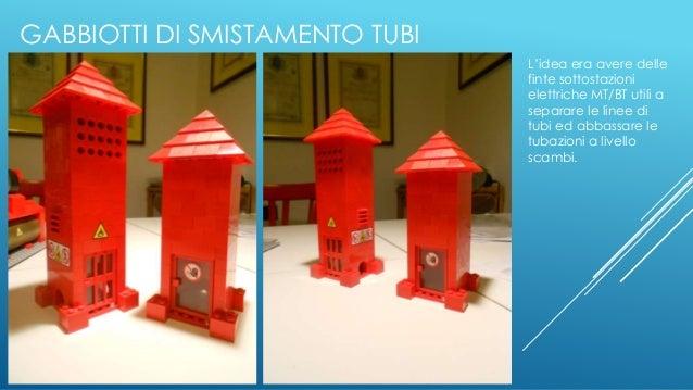 GABBIOTTI DI SMISTAMENTO TUBI L'idea era avere delle finte sottostazioni elettriche MT/BT utili a separare le linee di tub...