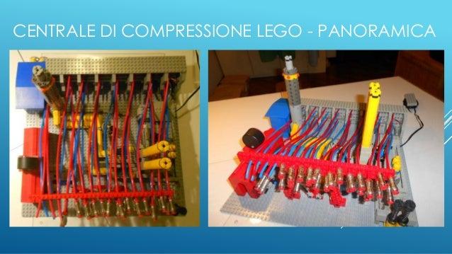 CENTRALE DI COMPRESSIONE LEGO - PANORAMICA
