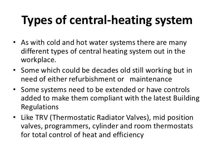 Central heating level 3