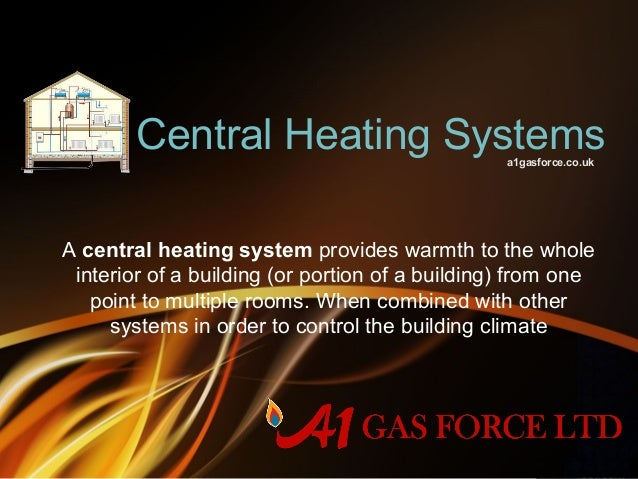 Central Heating Installation & Repair Services