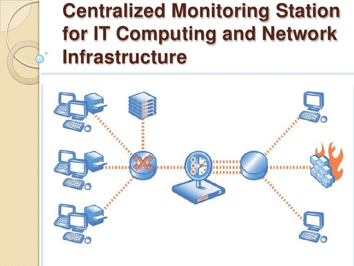 Centralized Monitoring Station for IT Computing and Network Infrastructure<br />