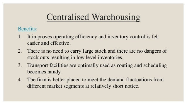 centralized and decentralized logistic Approaches to decision-making: decentralized versus centralized  chains,  international journal of physical distribution and logistics management 22 (5).