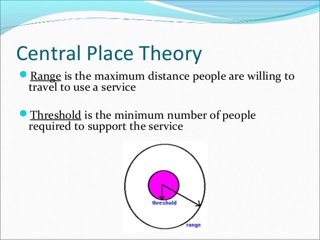 Central Place Theory