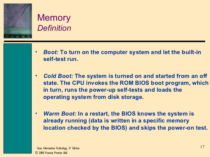 a definition of memory Hacking definition - hacking is unauthorized intrusion into a computer or a network the person engaged in hacking activities is generally referred to.