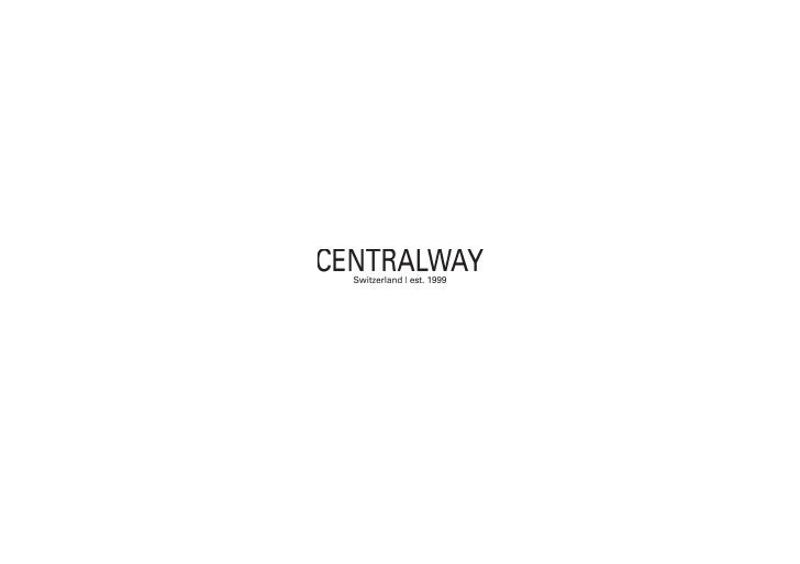 Centralway is an investment company that focuses on companies in the Internet sector. It was founded in Switzerland in 199...
