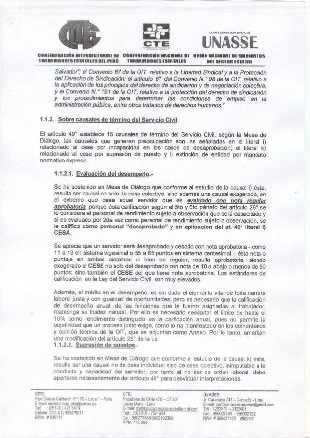 CITE - CTE - UNASSE PRESENTAN PROYECTO DE LEY A PREMIER JUAN JIMENEZ MAYOR QUE DEROGA Y MODIFICA ARTICULOS DE LA LEY DEL S...