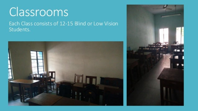 Classroom Design Tips For Visually Impaired ~ Centre for visually impaired