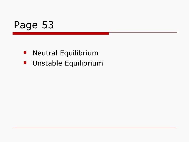 Page 53 <ul><ul><li>Neutral Equilibrium </li></ul></ul><ul><ul><li>Unstable Equilibrium </li></ul></ul>