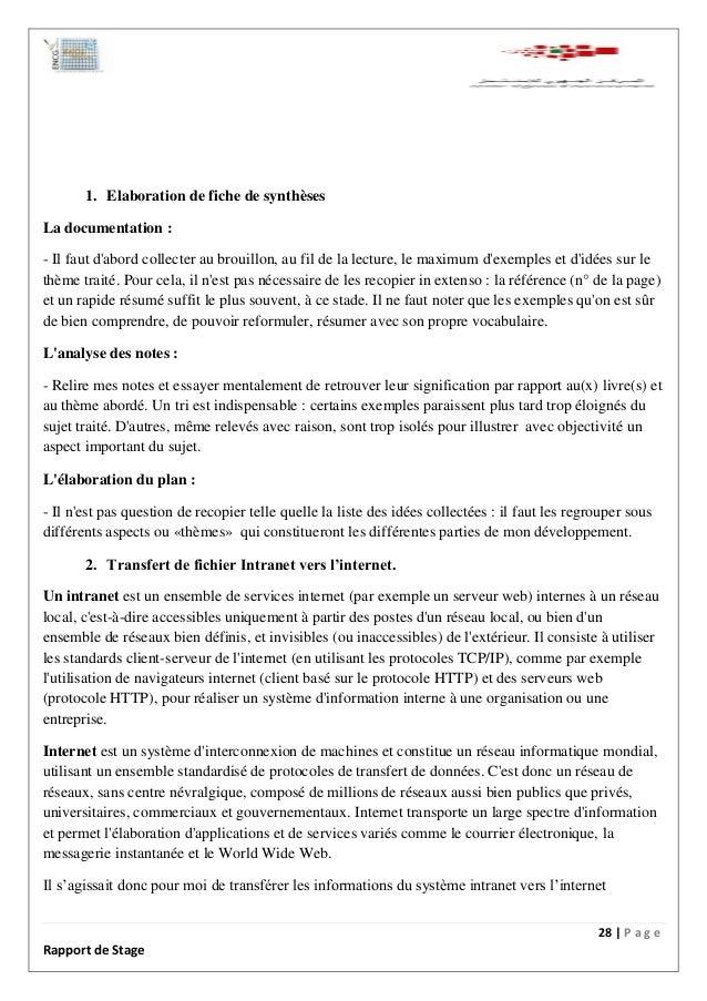 rapport de stage centre r u00e9gional d u2019investissement