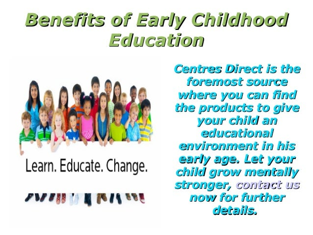 benefits of early education