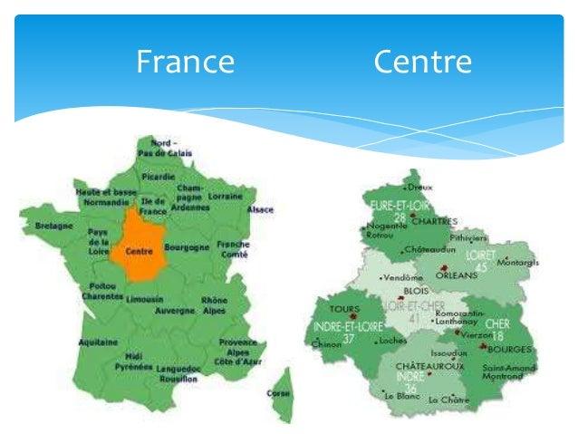 Centre Val De Loire Principales Ville