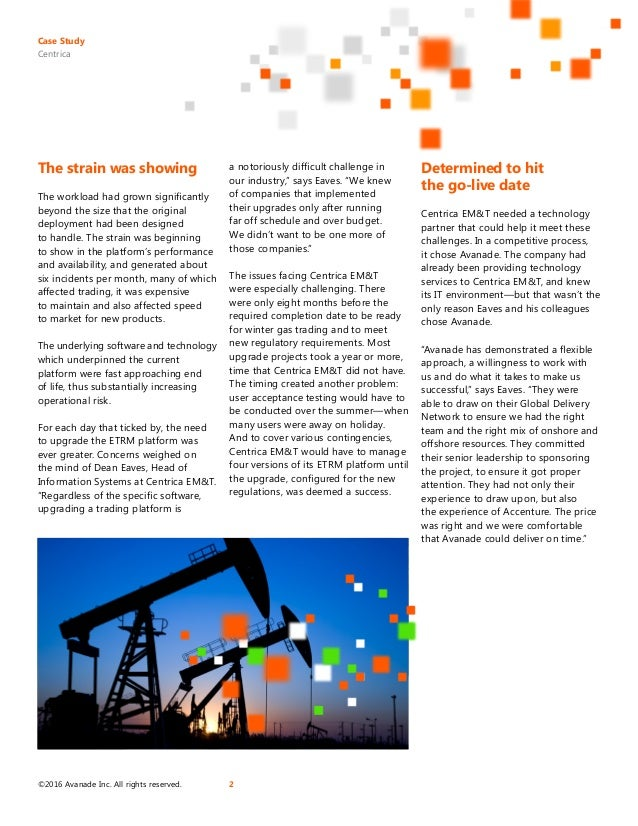 Centrica Upgrades its Energy Trading Platform for Increased Performance Slide 2