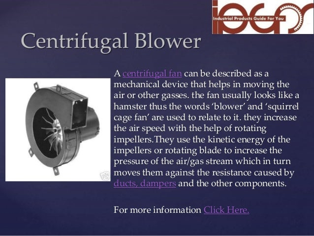 Centrifugal Fan Design : Centrifugal fan design