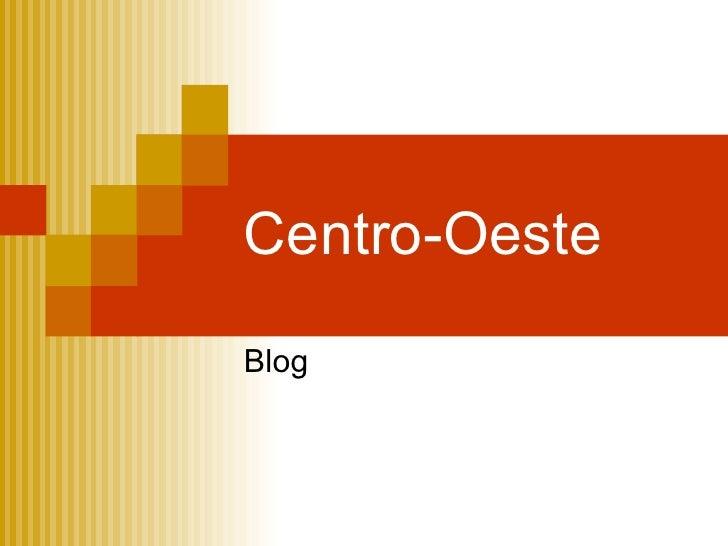 Centro-Oeste Blog