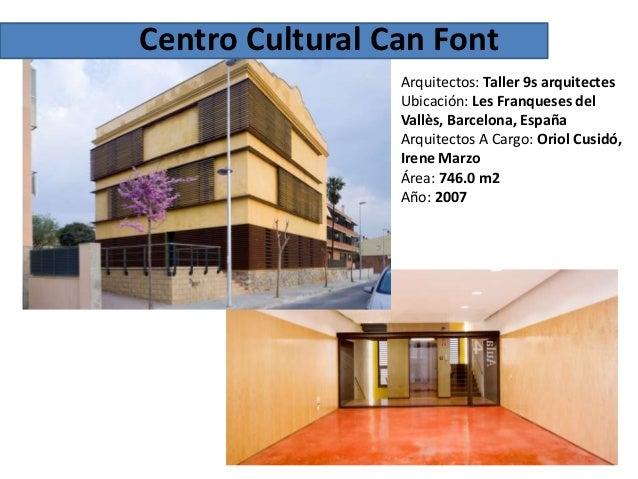 centro cultural On can font les franqueses