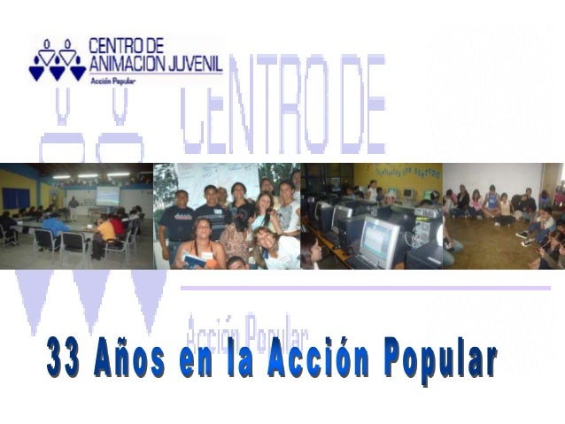 Es una Asociación Civil Sin Fines Lucro, de Vocación Popular, registrada ante el Ministerio de Educación, al servicio del ...