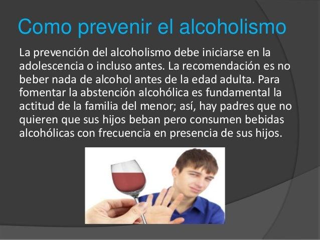 El alcoholismo el problema agudo