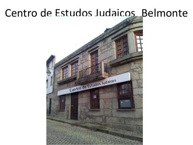 Centro de Estudos Judaicos_Belmonte                                 uda   icos                           udos J           ...