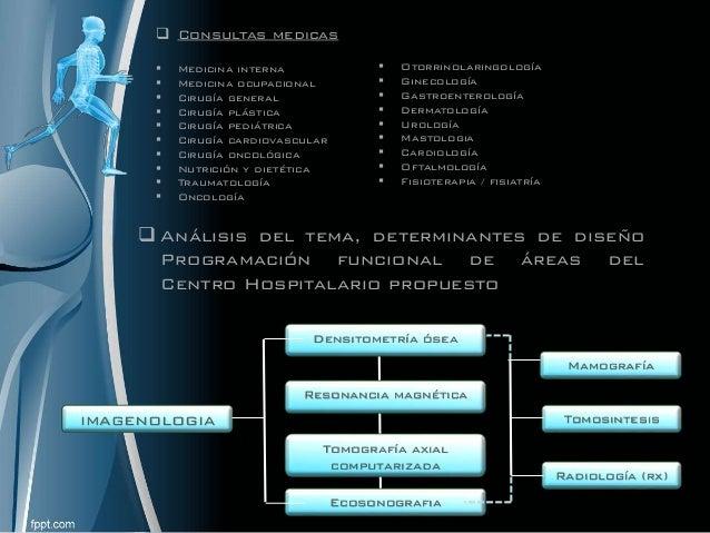  Consultas medicas  Medicina interna  Medicina ocupacional  Cirugía general  Cirugía plástica  Cirugía pediátrica  ...