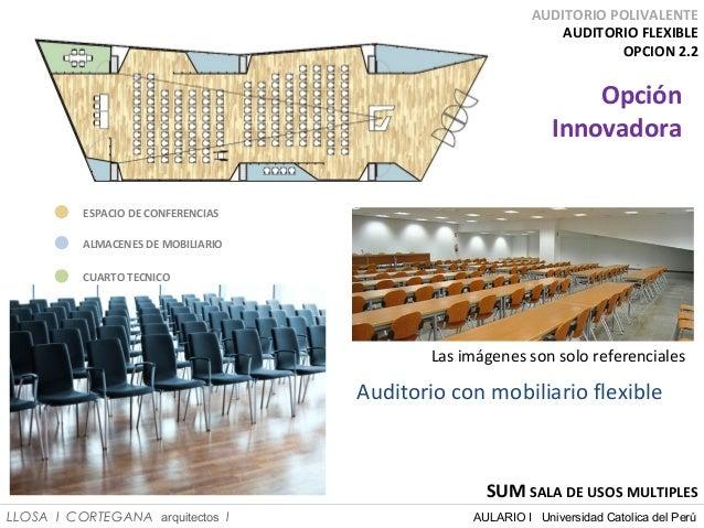 Centro de innovaci n acad mica pucp 2014 for Salon de usos multiples programa arquitectonico