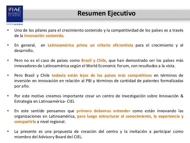 Centro de Innovación y Estrategia para Latinoamérica - CIEL Slide 2