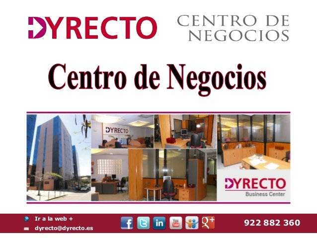 Ir a la web +                     922 882 360dyrecto@dyrecto.es