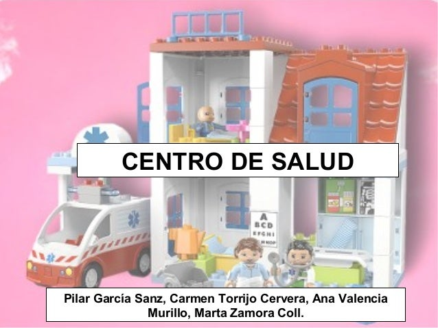 Pilar García Sanz, Carmen Torrijo Cervera, Ana Valencia Murillo, Marta Zamora Coll. CENTRO DE SALUD