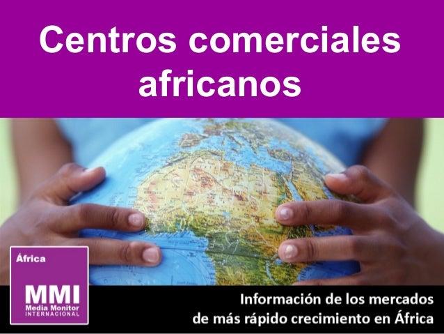 Centros comerciales africanos