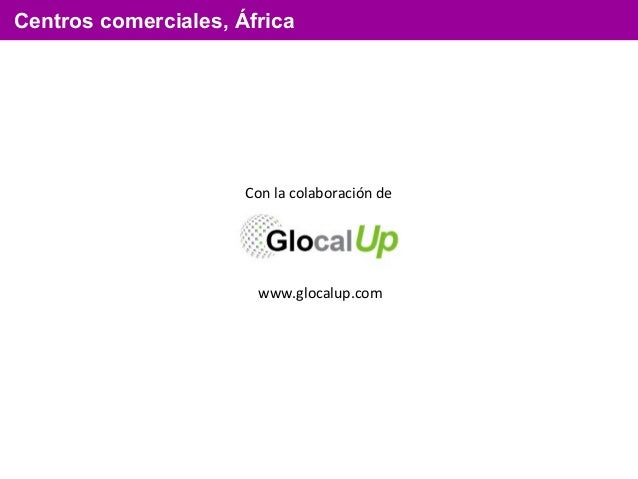 Centros comerciales africanos Slide 2