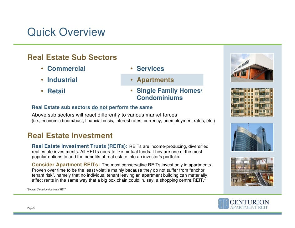 Centurion Apartment Reit Investor Presentation