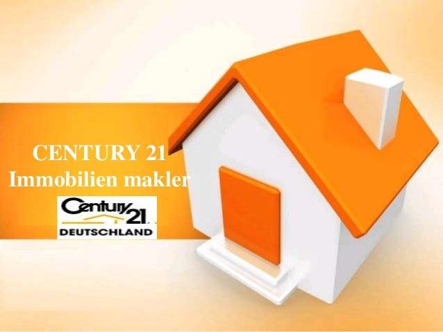 CENTURY 21 Immobilien makler