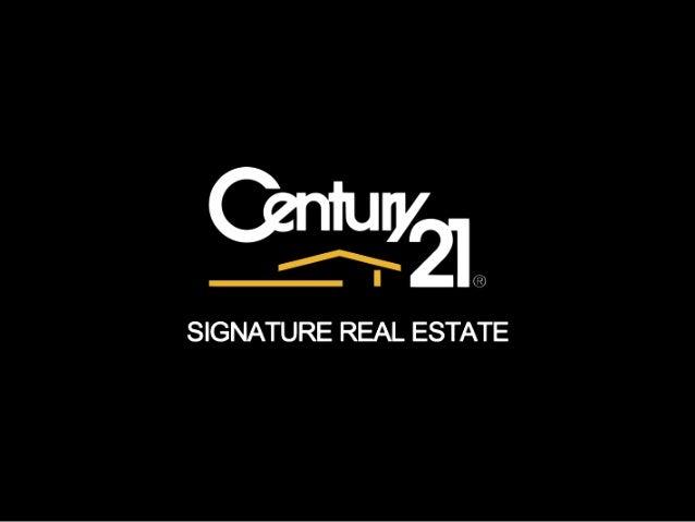 CENTURY 21 Signature Real Estate