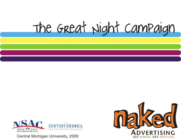 The Great Night Campaign     Central Michigan University, 2009