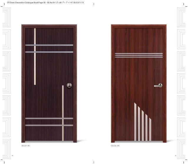 ... 4. CP Doors Decorative Catalogue Book Page ...  sc 1 st  SlideShare & Fashionable and elegant decorative doors for your home