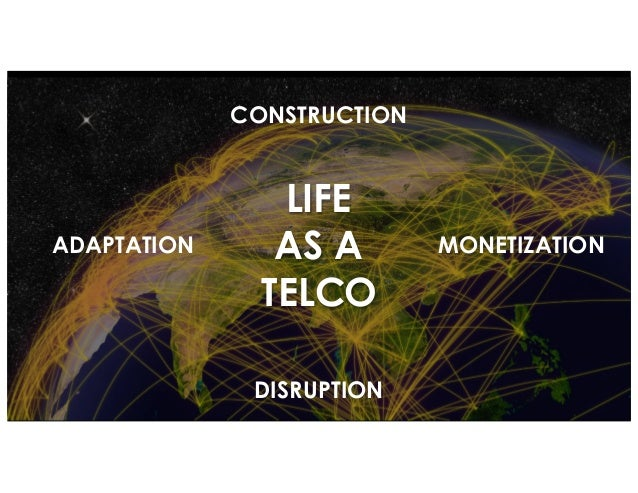 TELEPHONY NETWORK IS THE PLATFORM