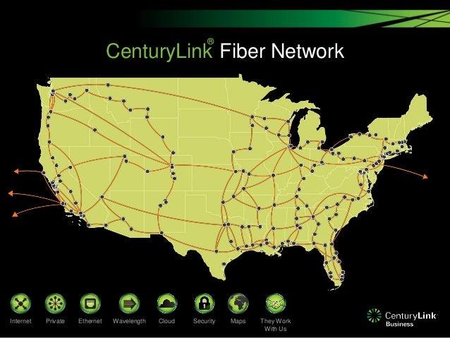Centurylink Fiber Optic Map CenturyLink Network Centurylink Fiber Optic Map