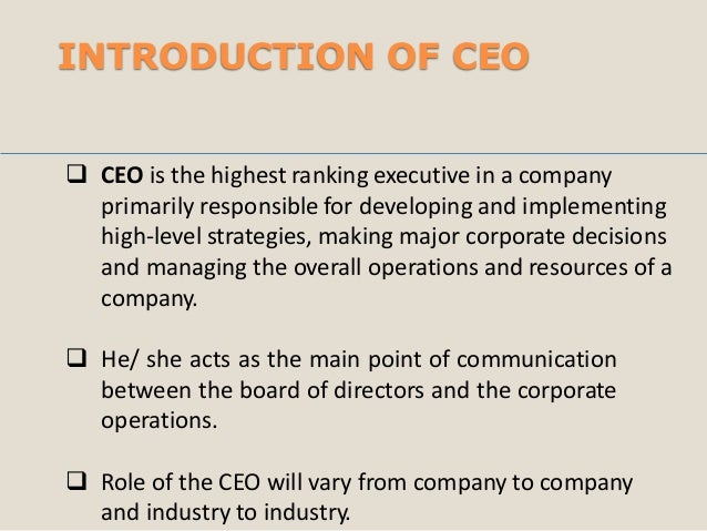 CEO Email Lists & Mailing Database