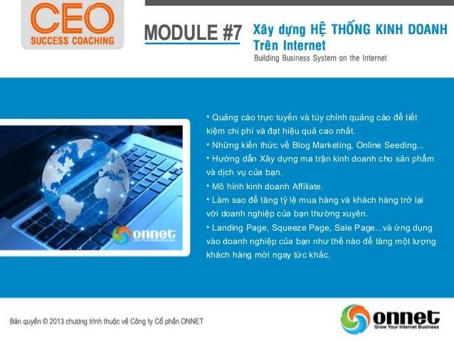 Module                           Tên Module                          Số buổi   Thời lượngModule #1   Xây dựng chiến lược v...