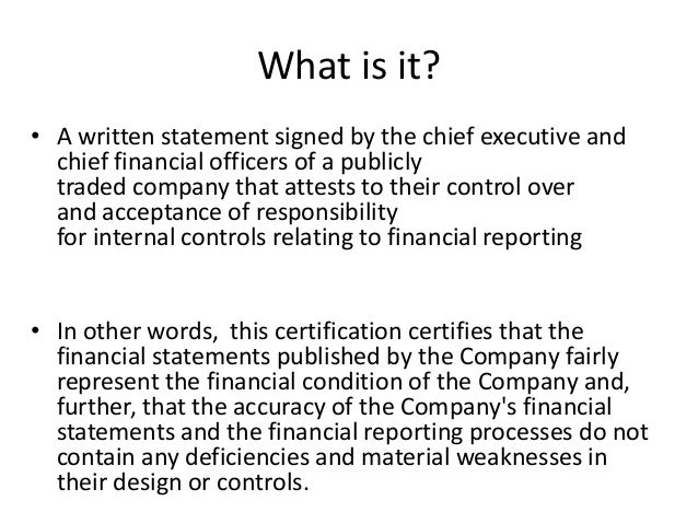 internal control over financial reporting essay Internal control: test your knowledge by james schaefer, cpa,  related topics accounting and financial reporting internal control over financial reporting.