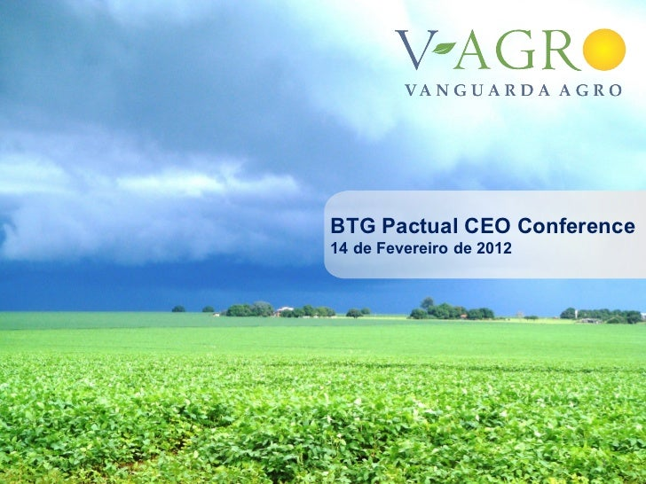 BTG Pactual CEO Conference14 de Fevereiro de 2012                          1